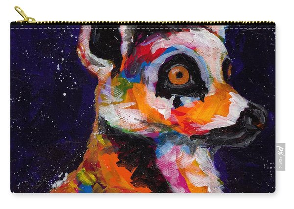 Wide Eyed And Bushy Tailed Carry-all Pouch