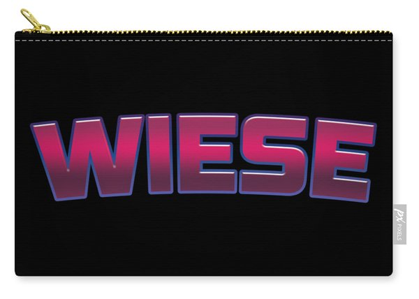 Wiese #wiese Carry-all Pouch