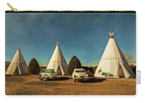 Wigwam Hotel Carry-all Pouch