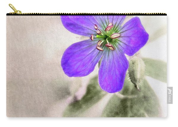 Wild Geranium Carry-all Pouch