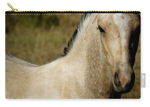 Wild Mustangs Of New Mexico 5 Carry-all Pouch