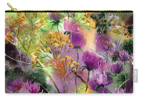 Wild Tansy Carry-all Pouch
