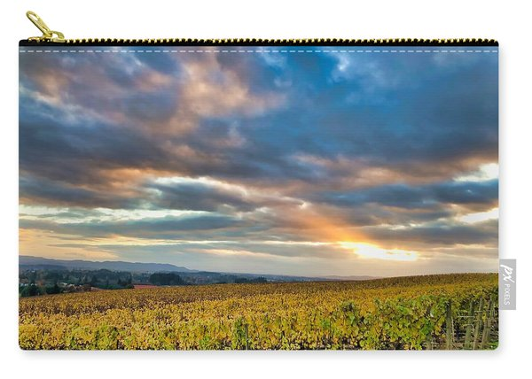 Willamette Valley In Fall Carry-all Pouch