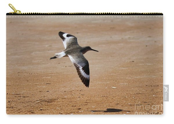 Willet In Flight Carry-all Pouch