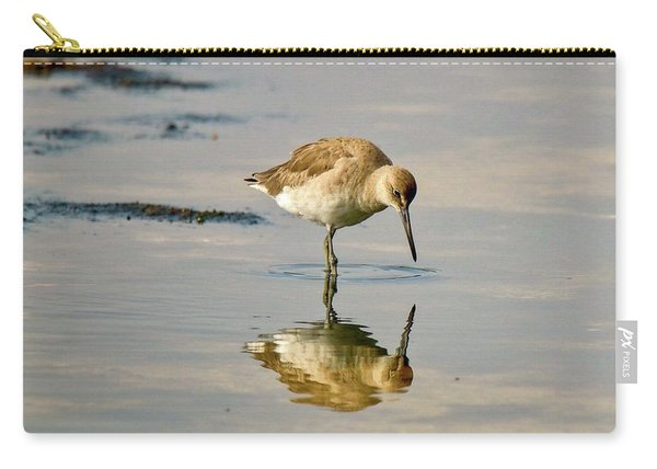 Willet Sees Its Reflection Carry-all Pouch