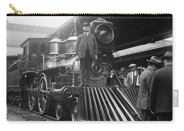 William Crooks 4-4-0 Steam Locomotive Carry-all Pouch