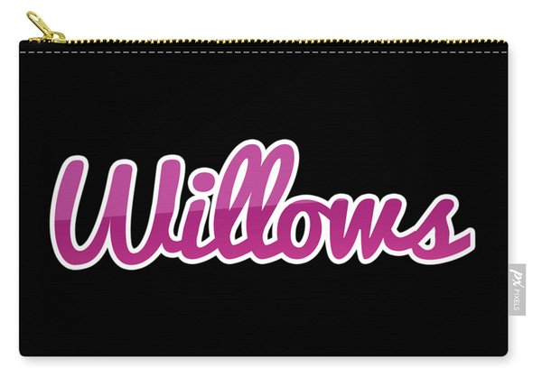Willows #willows Carry-all Pouch