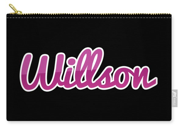Willson #willson Carry-all Pouch