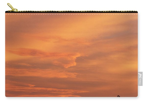 Carry-all Pouch featuring the photograph Windmill And Afterglow 02 by Rob Graham