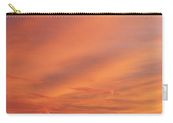 Carry-all Pouch featuring the photograph Windmill And Afterglow 03 by Rob Graham