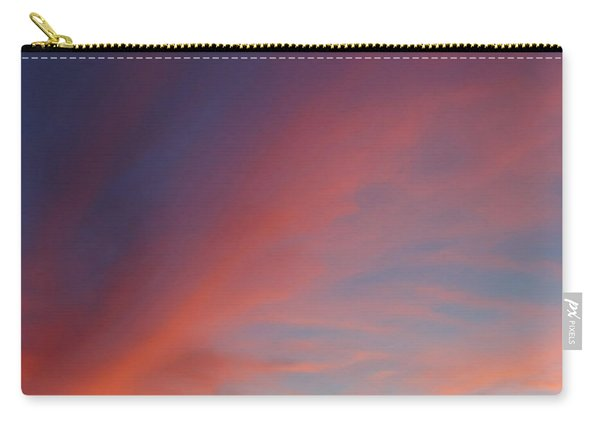 Carry-all Pouch featuring the photograph Windmill And Afterglow 05 by Rob Graham