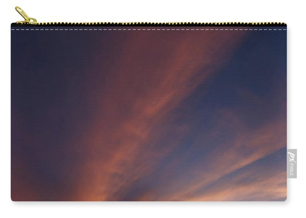 Carry-all Pouch featuring the photograph Windmill And Afterglow 06 by Rob Graham