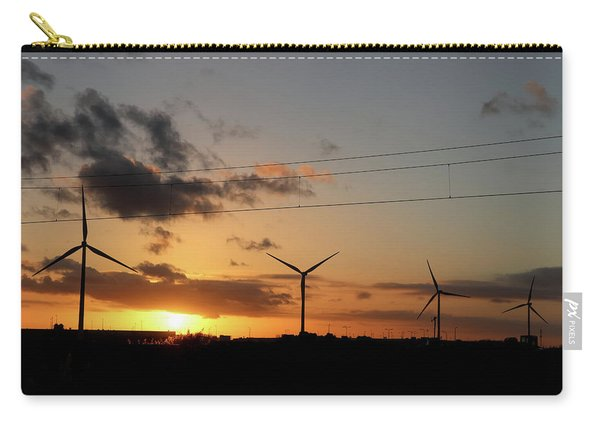 Windmill Sunset Carry-all Pouch