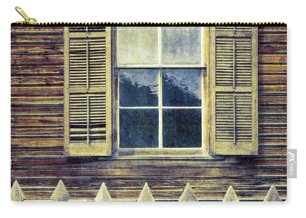 Window And Picket Fence Carry-all Pouch