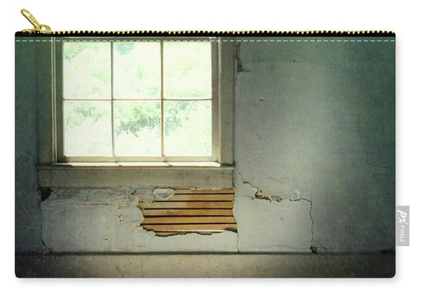 Window In Abandoned Room Carry-all Pouch