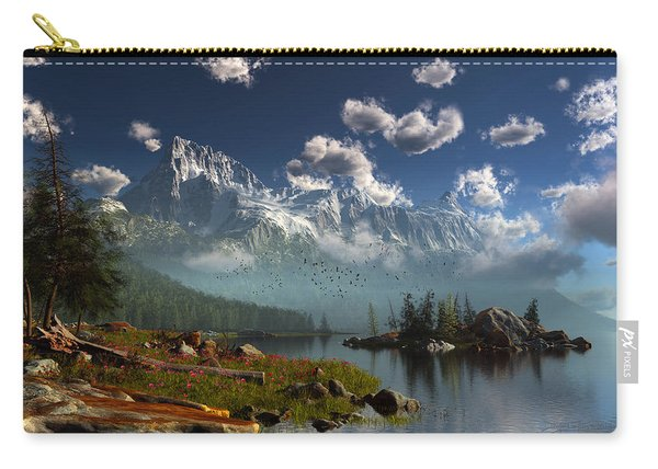 Window Through The Mist Carry-all Pouch