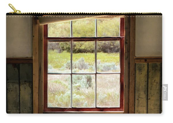 Window With Crooked Shade Carry-all Pouch
