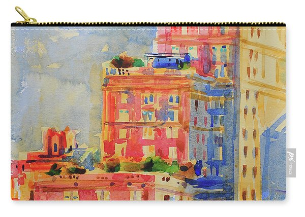 Windows In The Upper East Side Carry-all Pouch