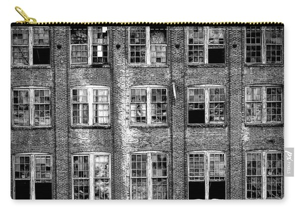 Windows Of Old Claremont Carry-all Pouch