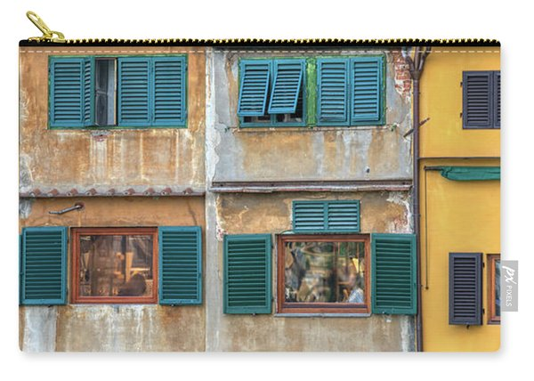 Windows Of  Ponte Vecchio Carry-all Pouch