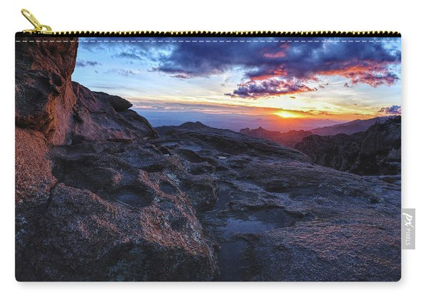 Windy Point Sunset Carry-all Pouch