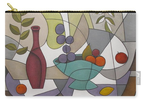Wine And Fruit Carry-all Pouch