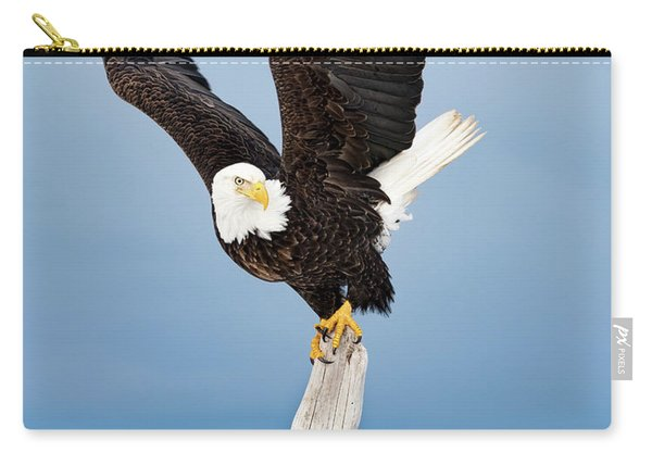 Winged Sentry Carry-all Pouch