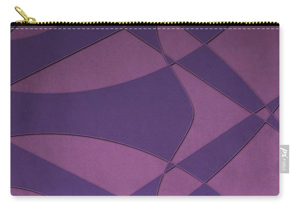Wings And Sails - Purple And Pink Carry-all Pouch