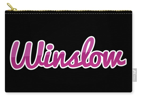 Winslow #winslow Carry-all Pouch