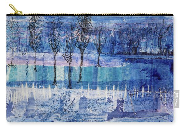 Winter Blues 1 Carry-all Pouch