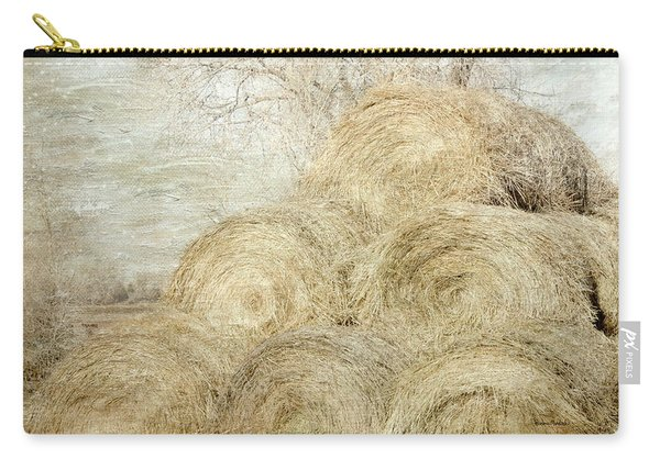 Winter Hay Stack Carry-all Pouch