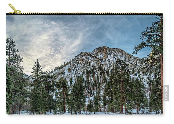 Winter In Bishop Carry-all Pouch