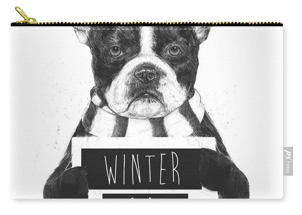 Winter Is Boring Carry-all Pouch