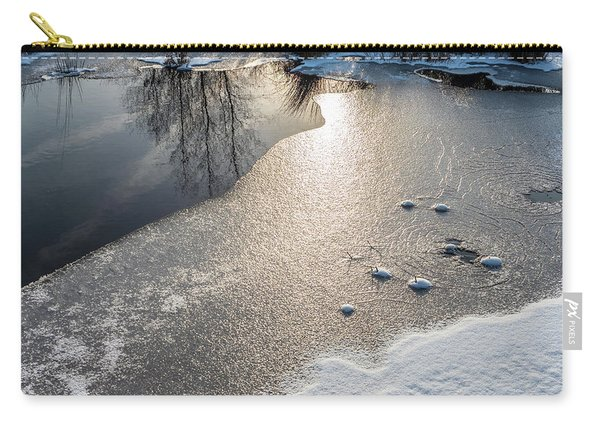 Winter Landscape At Whitesbog Carry-all Pouch