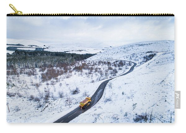 Winter Landscape Mid Wales Carry-all Pouch