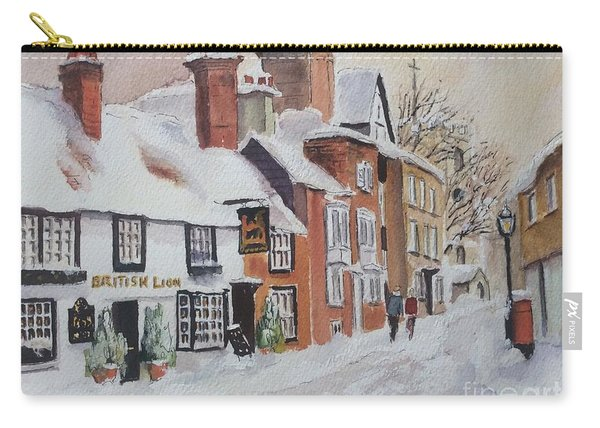 Winter On The Bayle. Folkestone Carry-all Pouch