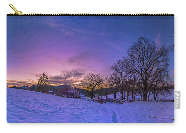 Winter Panorama Carry-all Pouch