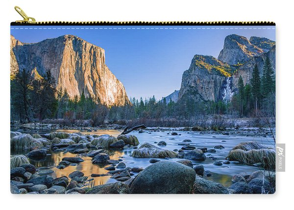 Winter Sunrise At Valley View Carry-all Pouch