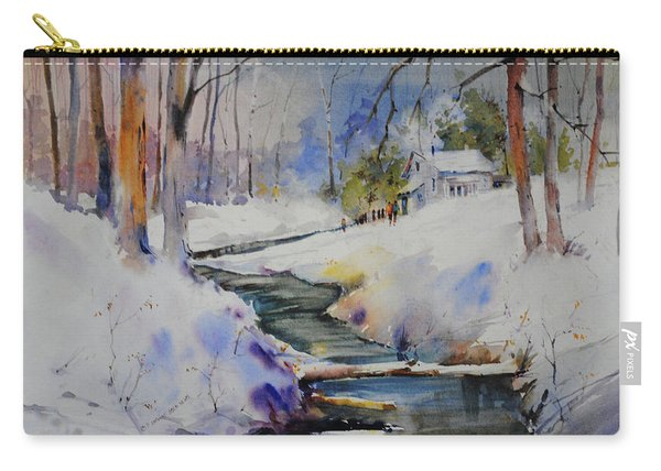 Winter Wilderness Carry-all Pouch