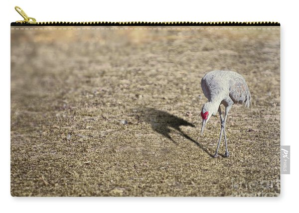 Carry-all Pouch featuring the photograph With Grace by Susan Warren