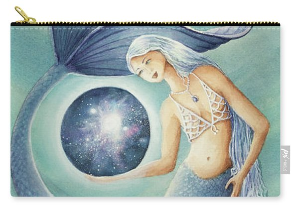 With Gratitude The Universe Is Hers Carry-all Pouch