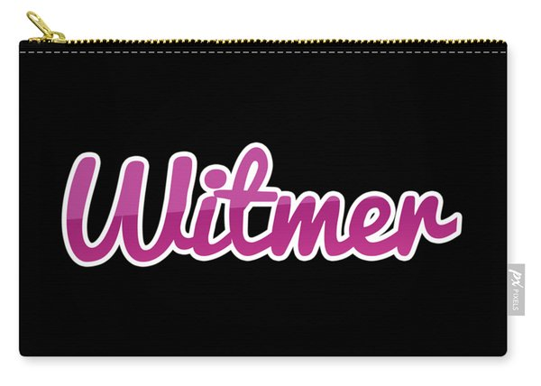 Witmer #witmer Carry-all Pouch