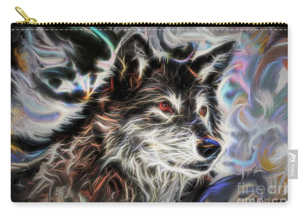 Wolf Animal Totem No2 Carry-all Pouch