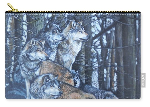 Wolf Pack Carry-all Pouch