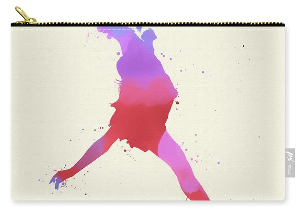 Woman Figure Skater Carry-all Pouch