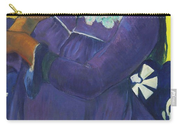 Woman With Mango - Digital Remastered Edition Carry-all Pouch