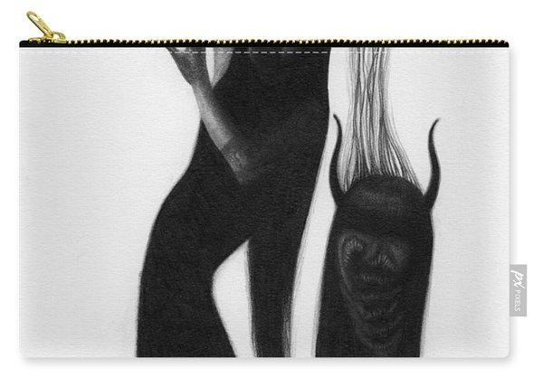 Woman With The Demon's Fingers - Artwork Carry-all Pouch