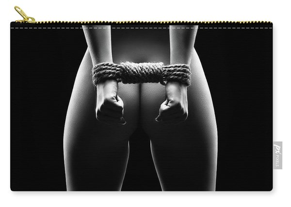 Woman's Hands In Bondage Carry-all Pouch