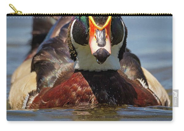 Wood Duck Face First Carry-all Pouch