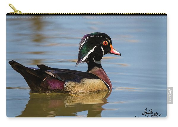 Wood Duck In Dallas Carry-all Pouch